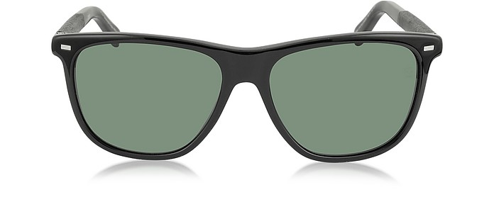 EZ0009 01N Sonnenbrille in schwarz - Ermenegildo Zegna