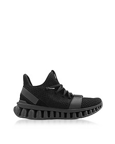Black TECHMERINO A-Maze sneakers