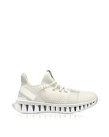 White TECHMERINO A-Maze Sneakers