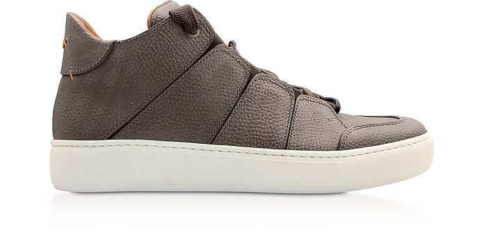Ermenegildo Zegna Sneakers Leather Tiziano High-Top Sneakers