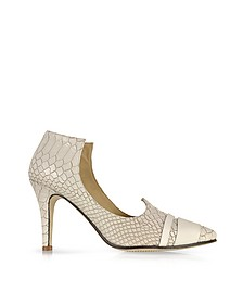 Clinton Embossed Leather Pump