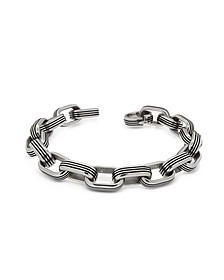 Zo-Chain Stainless Steel Oval Link Bracelet - Zoppini