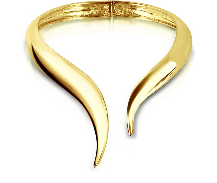 Brass Collar Necklace - Giuseppe Zanotti