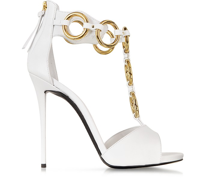 Chain Leather Sandal - Giuseppe Zanotti
