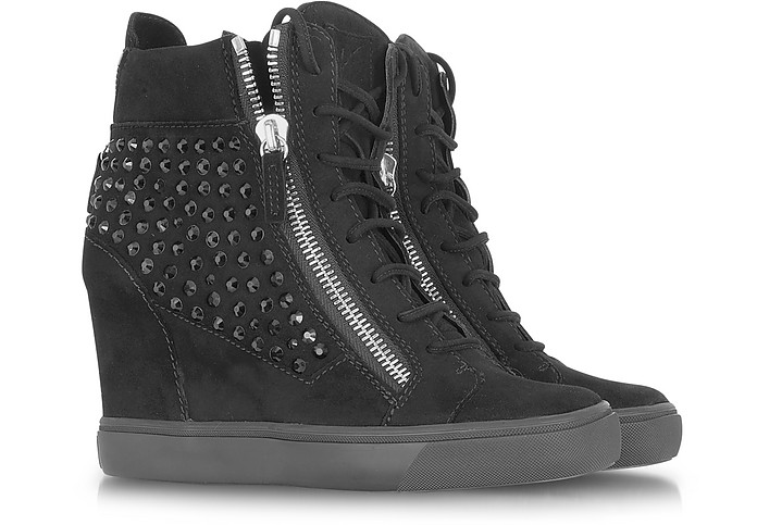 Swarovski Elements High Top Sneaker - Giuseppe Zanotti