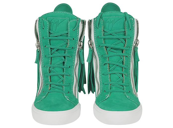 67a02a613c09d Suede Fringed Sneaker Wedge - Giuseppe Zanotti. $875.00 Actual transaction  amount