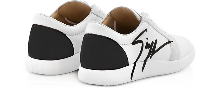 ca041ed138f1 G Runner Black and White Low Top Men s Sneakers - Giuseppe Zanotti.  AU 362.50 AU 725.00 Actual transaction amount
