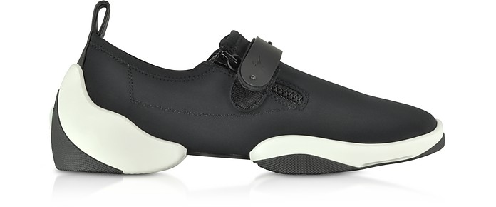 Light Jump LT2 Slip on Herrensneaker aus Nylon in schwarz - Giuseppe Zanotti
