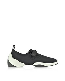 Light Jump LT2 Black Nylon Slip on Men's Sneakers - Giuseppe Zanotti