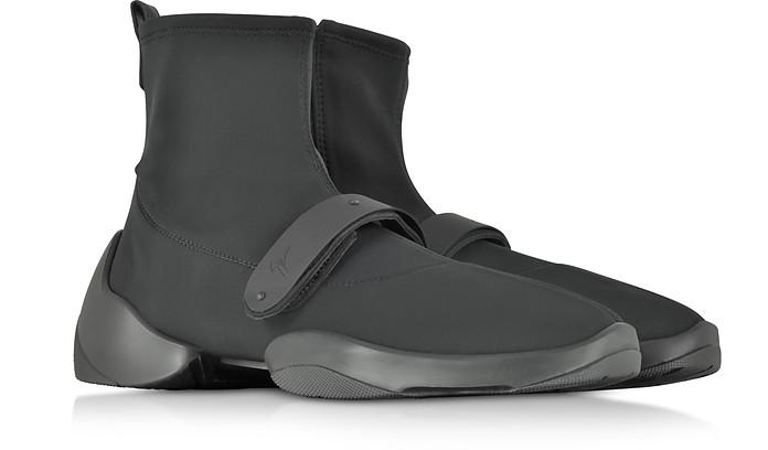 660c4c2e6e9dd Light Jump HT2 Black Nylon High Top Sock Sneakers - Giuseppe Zanotti. Sold  Out