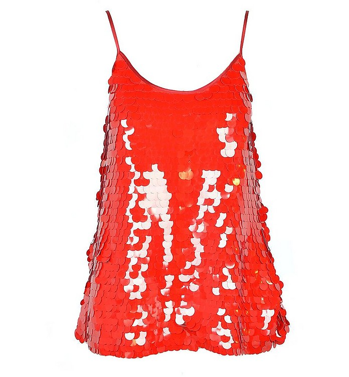 Women's Red Top - Jucca