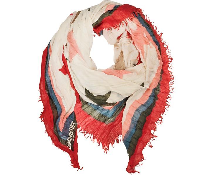 Delta Star Wool Blend Women's Scarf - Zadig & Voltaire