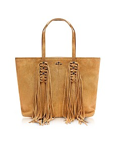 Mick Suede Fringed Tote bag - Zadig & Voltaire