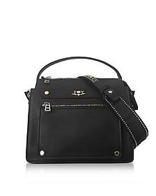 James Black Leather Shoulder Bag - Zadig & Voltaire