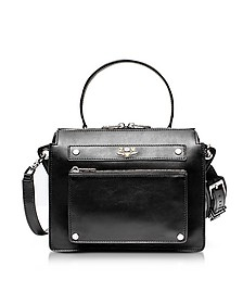 James Black Leather Shoulder Bag - Zadig & Voltaire