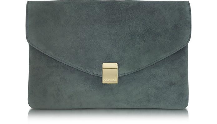 Lizor Suede Envelope Clutch - Zadig & Voltaire