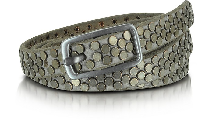 Gaele Studded Leather Belt - Zadig & Voltaire