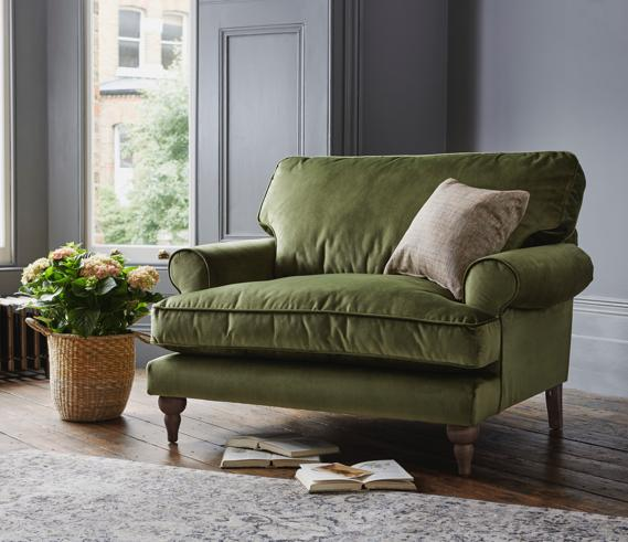 Our top 9 Green Living Room ideas. - Furniture Village