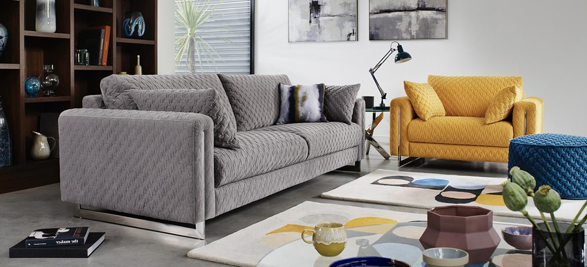 Grey And Yellow Living Room Ideas Furniture Village