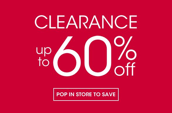 Clearance in store