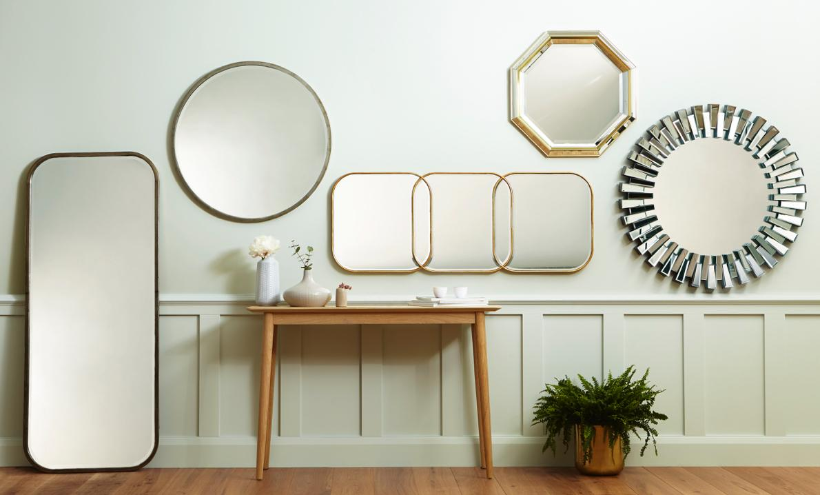 Mirrors make a small bedroom feel bigger