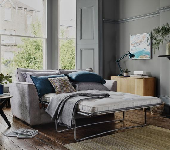 Sofa bed with Hypnos mattress