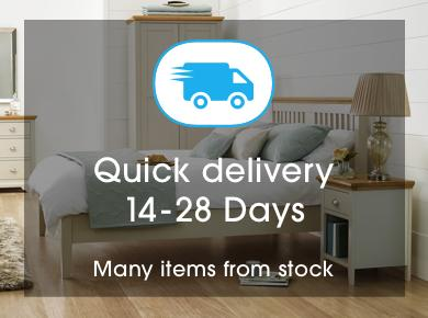 Quick delivery bedroom furniture
