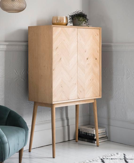 Spare room ideas – retro cocktail cabinet