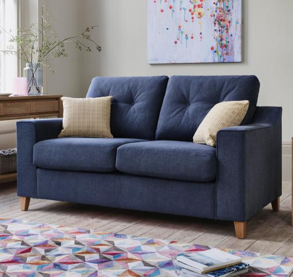 Guest room ideas – fabric sofa bed