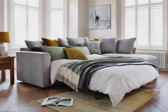 Small bedroom ideas – sofa bed