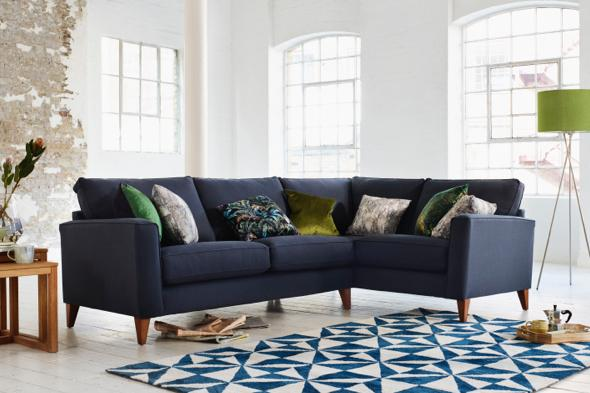 Best corner sofas – compact Nordic style