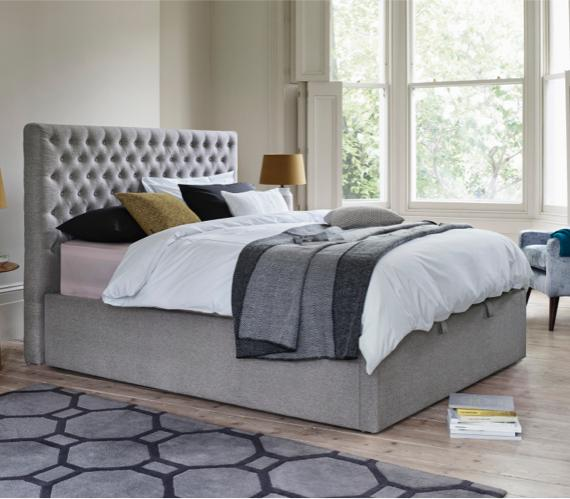 Small bedroom ideas – ottoman bed