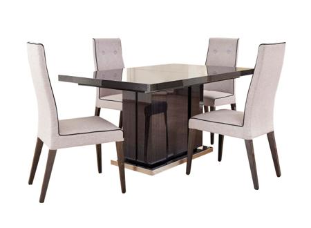 St Moritz extending dining table and 4 Chairs