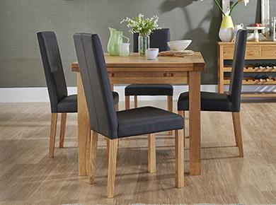 oak dining tables and chairs sale