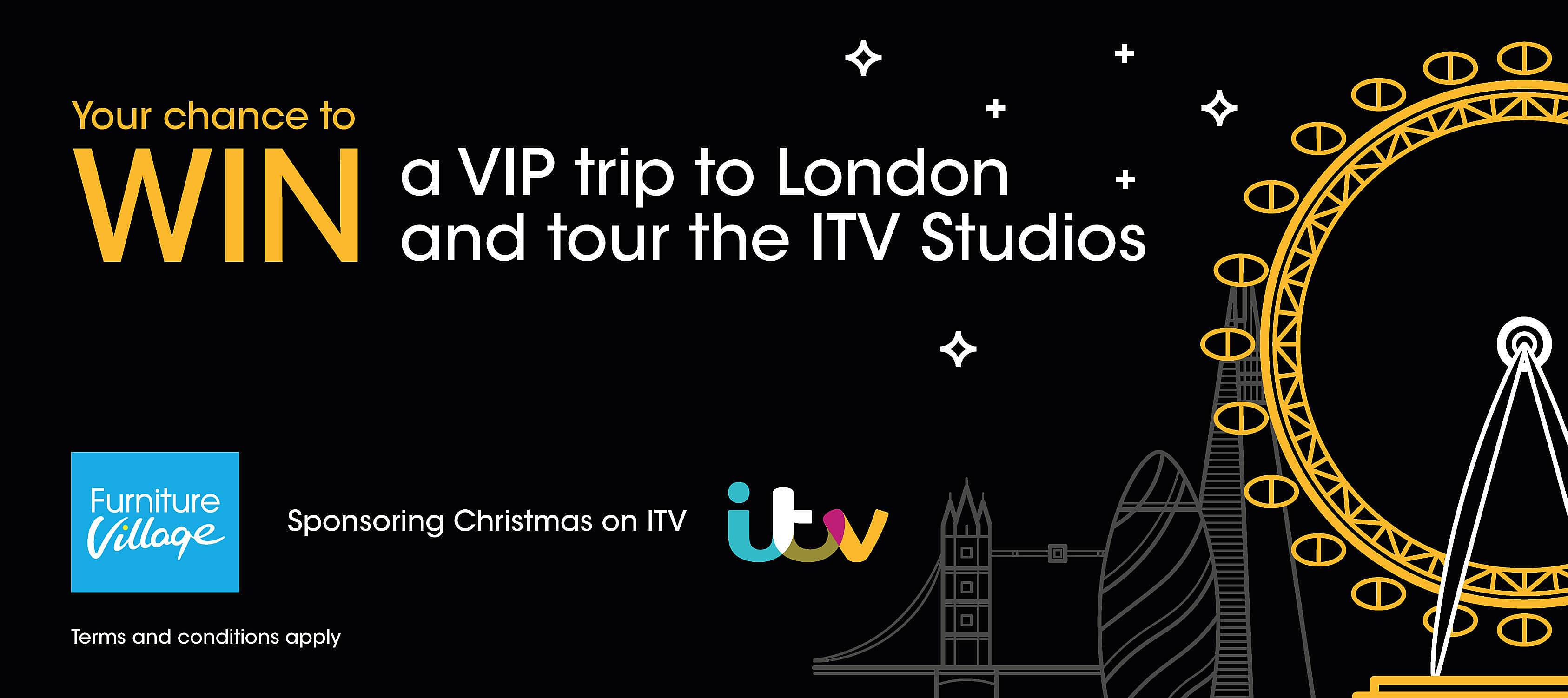 Win a magical VIP experience at ITV studios