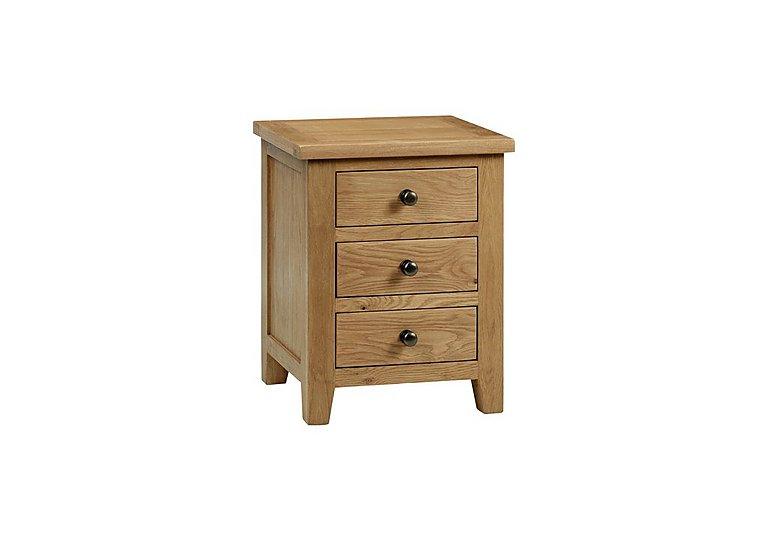 Addison 3 Drawer Bedside Cabinet in  on Furniture Village