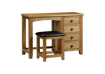 Prime Addison Single Pedestal Dressing Table Download Free Architecture Designs Jebrpmadebymaigaardcom