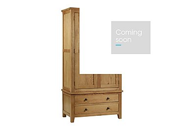 Addison Double Wardrobe with Drawers in  on Furniture Village