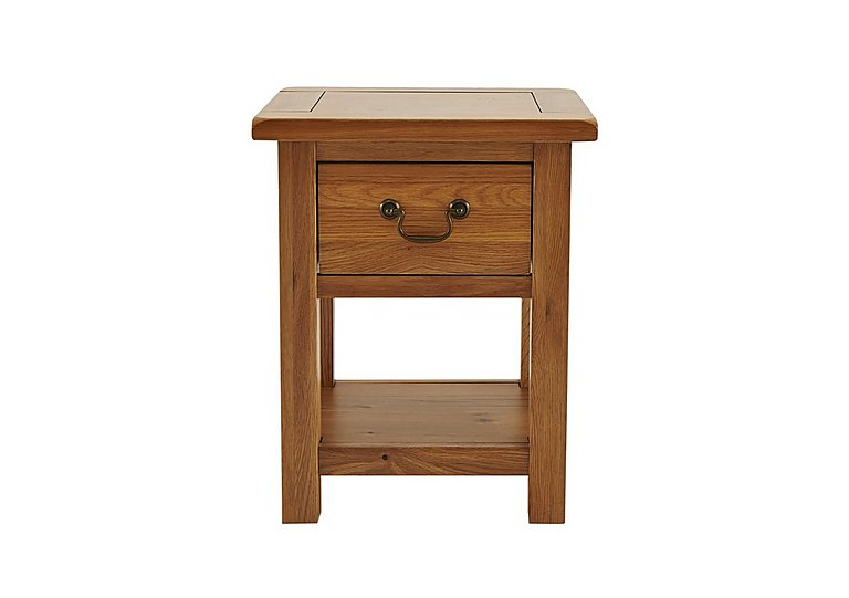 Arlington Lamp Table with Drawer in  on Furniture Village