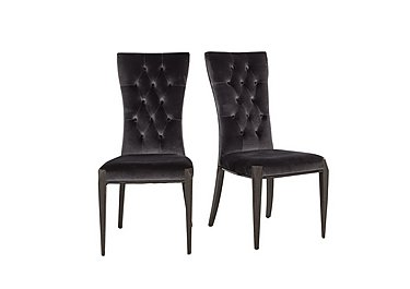 Allure Pair of Button Back Dining Chairs in  on Furniture Village