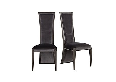Allure Pair of Lacquer Back Dining Chairs in  on Furniture Village
