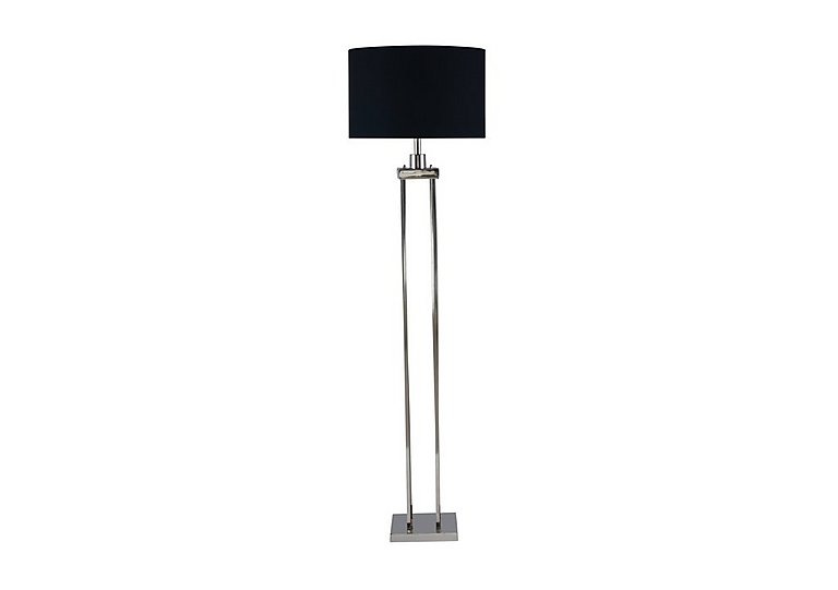 Aluminium Column Floor Lamp in  on Furniture Village