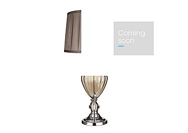 Amber Table Lamp in  on Furniture Village