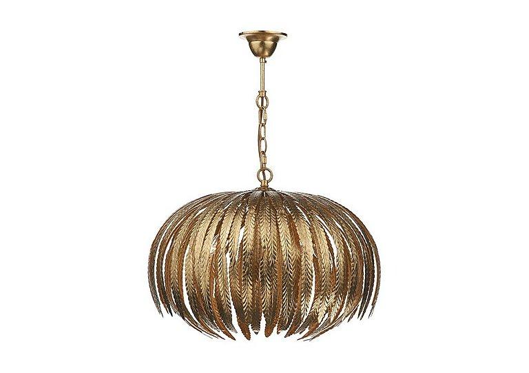 Ambrose Pendant Light in  on Furniture Village
