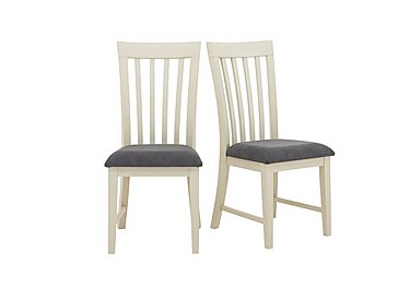 Angeles Pair of Wooden Chairs in  on Furniture Village