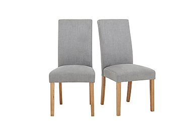 Angeles Pair of Fabric Chairs in  on Furniture Village