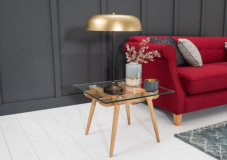 Ansen brass table lamp