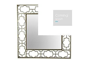 Antique Gold Design Mirror in  on Furniture Village