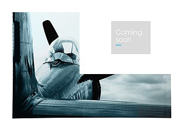 Airplane Glass Picture in  on Furniture Village