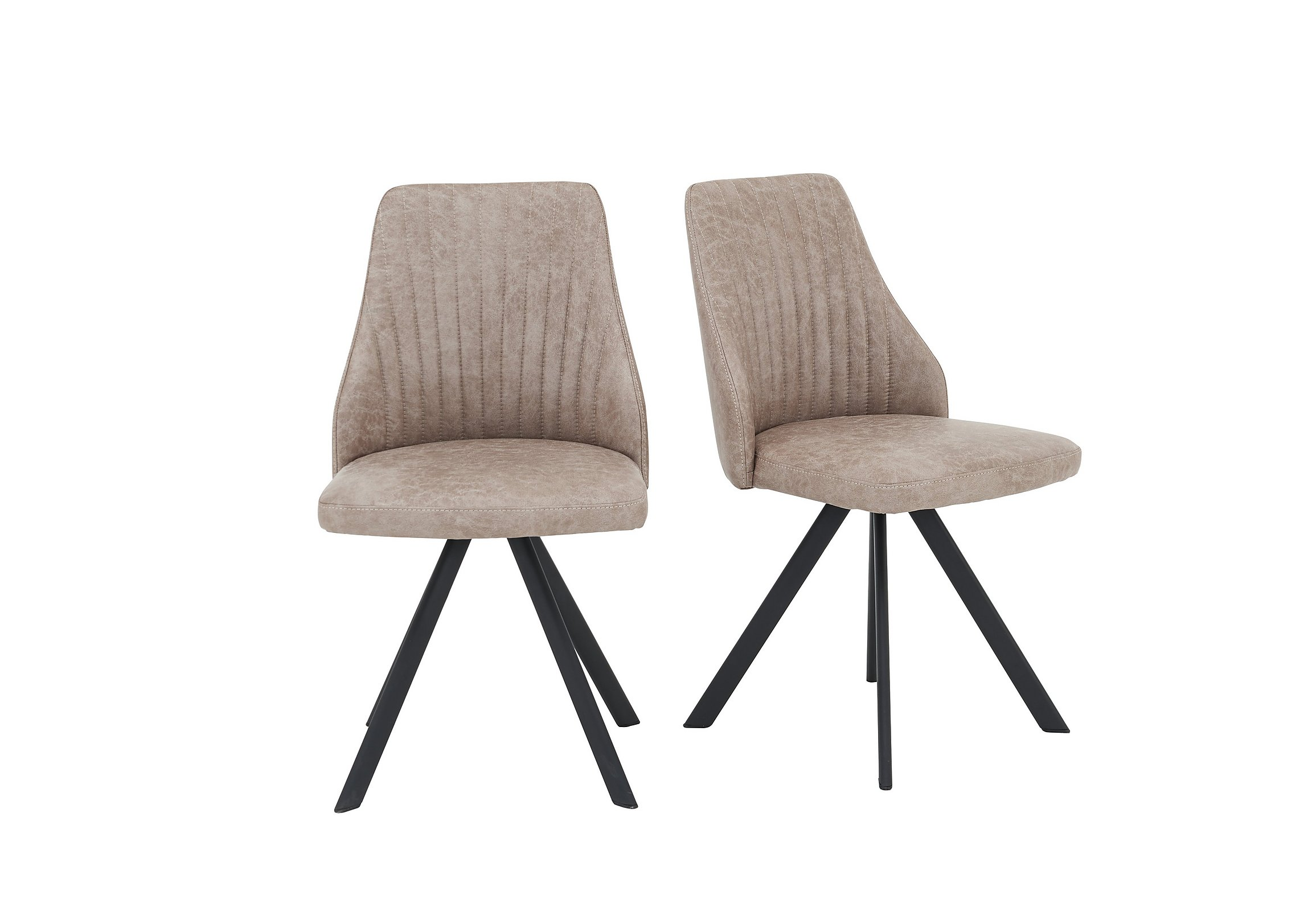 Aquila swivel dining chair loading images